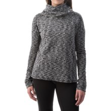 Avalanche Wear Cosmic Fleece Hoodie (For Women) in Black/White - Closeouts