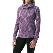 Avalanche Wear Cosmic Fleece Hoodie (For Women) in Italian Plum - Closeouts