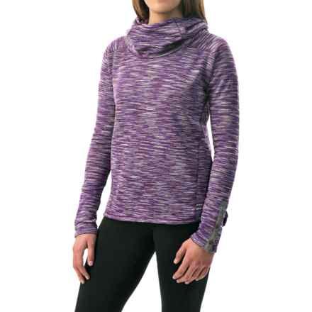Avalanche Wear Cosmic Fleece Hoodie (For Women) in Italian Plum - Closeouts