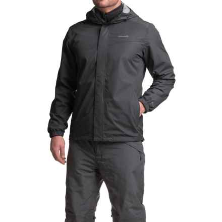 Avalanche Wear Deluge Winsport Rain Shell (For Men) in Black - Closeouts