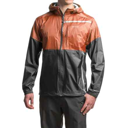 Avalanche Wear El Portal Rain Jacket - Waterproof, Full Zip (For Men) in Terracotta - Closeouts