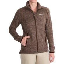Avalanche Wear Element Fleece Jacket (For Women) in Chocolote Herringbone - Closeouts