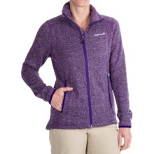 Avalanche Wear Element Fleece Jacket (For Women) in Navy Purple Herringbone - Closeouts