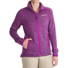 Avalanche Wear Element Fleece Jacket (For Women) in Purplewine Herringbone - Closeouts