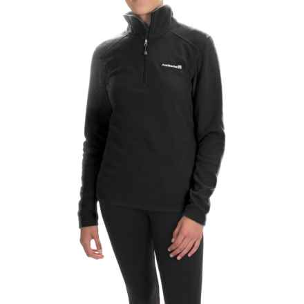 Avalanche Wear Fairmont Fleece Shirt - Zip Neck, Long Sleeve (For Women) in Black - Closeouts