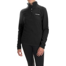 Avalanche Wear Fairmont Jacket - Zip Neck, Long Sleeve (For Women) in Black - Closeouts