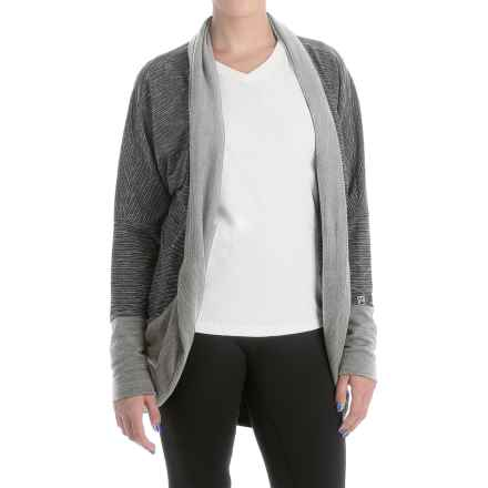 Avalanche Wear Fionna Cardigan Sweater (For Women) in Black/White/Grey Heather - Closeouts