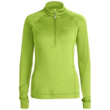 Avalanche Wear Fleece Mogul Shirt - Zip Neck, Long Sleeve (For Women) in Greenery - Closeouts