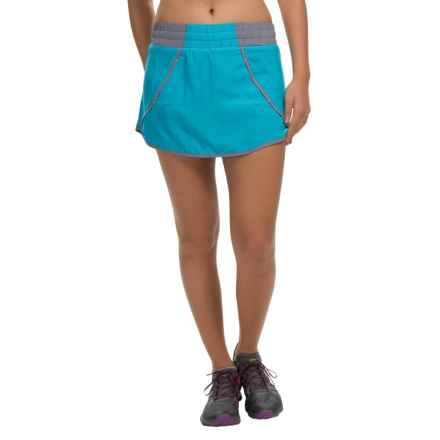 Avalanche Wear Flip Skort (For Women) in Blue Atoll - Closeouts