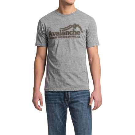 Avalanche Wear Graphic T-Shirt - Short Sleeve (For Men) in Light Grey - Closeouts