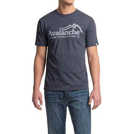 Avalanche Wear Graphic T-Shirt - Short Sleeve (For Men) in Navy - Closeouts