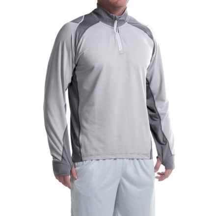 Avalanche Wear Gravity Shirt - Zip Neck, Long Sleeve (For Men) in Micro Chip - Closeouts