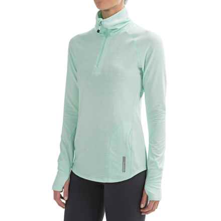 Avalanche Wear Hype Shirt - Zip Neck, Long Sleeve (For Women) in Bay - Closeouts