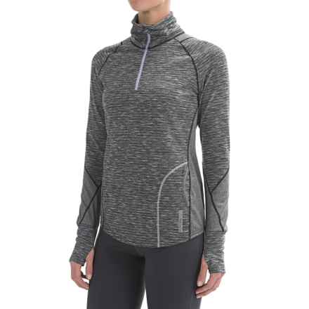 Avalanche Wear Hype Shirt - Zip Neck, Long Sleeve (For Women) in Black - Closeouts