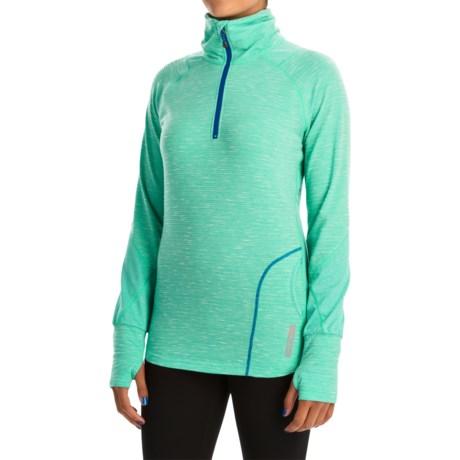 Avalanche Wear Hype Shirt - Zip Neck, Long Sleeve (For Women)