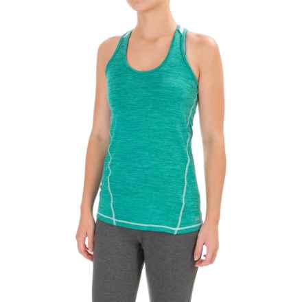 Avalanche Wear Jolla MC Tank Top - Racerback (For Women) in Bright Teal Heather - Closeouts