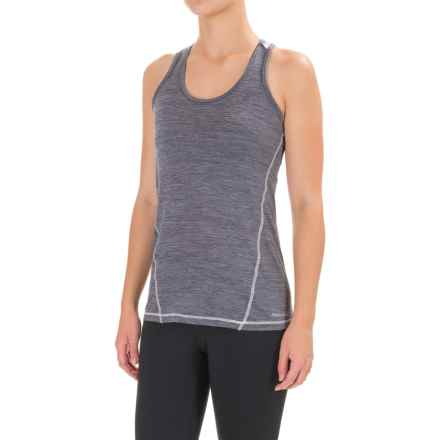 Avalanche Wear Jolla MC Tank Top - Racerback (For Women) in Quiksilver Heather - Closeouts