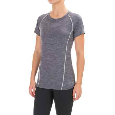 Avalanche Wear Jolla T-Shirt - Short Sleeve (For Women) in Quiksilver Heather - Closeouts