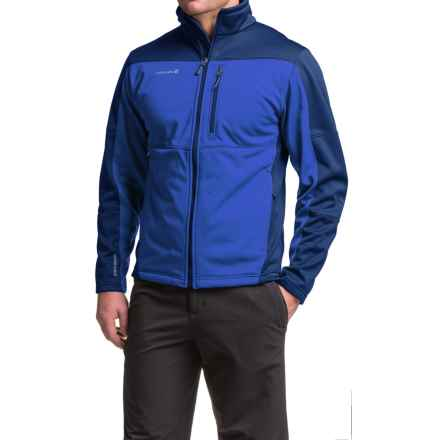 Avalanche Wear Leon Soft Shell Jacket (For Men) in True Blue - Closeouts