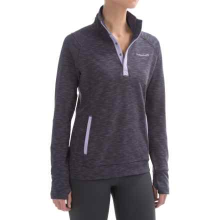 Avalanche Wear Loma Shirt - Snap Neck, Long Sleeve (For Women) in Asphalt - Closeouts