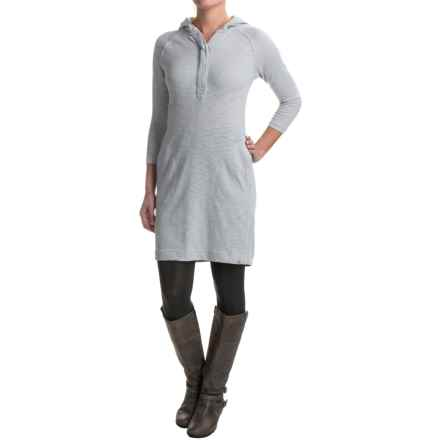 Avalanche Wear Mahatta Hoodie Dress - Long Sleeve (For Women) in Lunar Rock - Closeouts