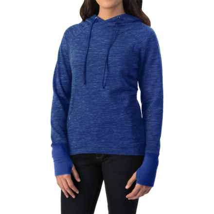 Avalanche Wear Mila Hoodie (For Women) in Mazanine Blue Spacedye - Closeouts
