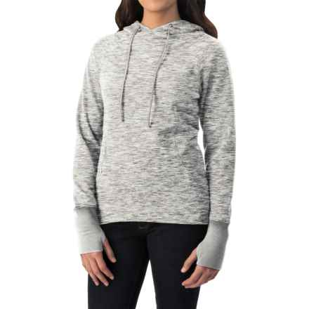 Avalanche Wear Mila Hoodie (For Women) in White/Silver Grey Spacedye - Closeouts