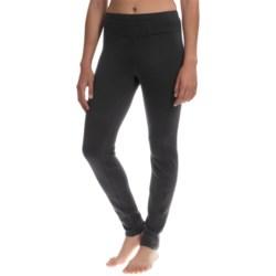 Avalanche Wear Mogul Fleece Base Layer Leggings (For Women) in Black