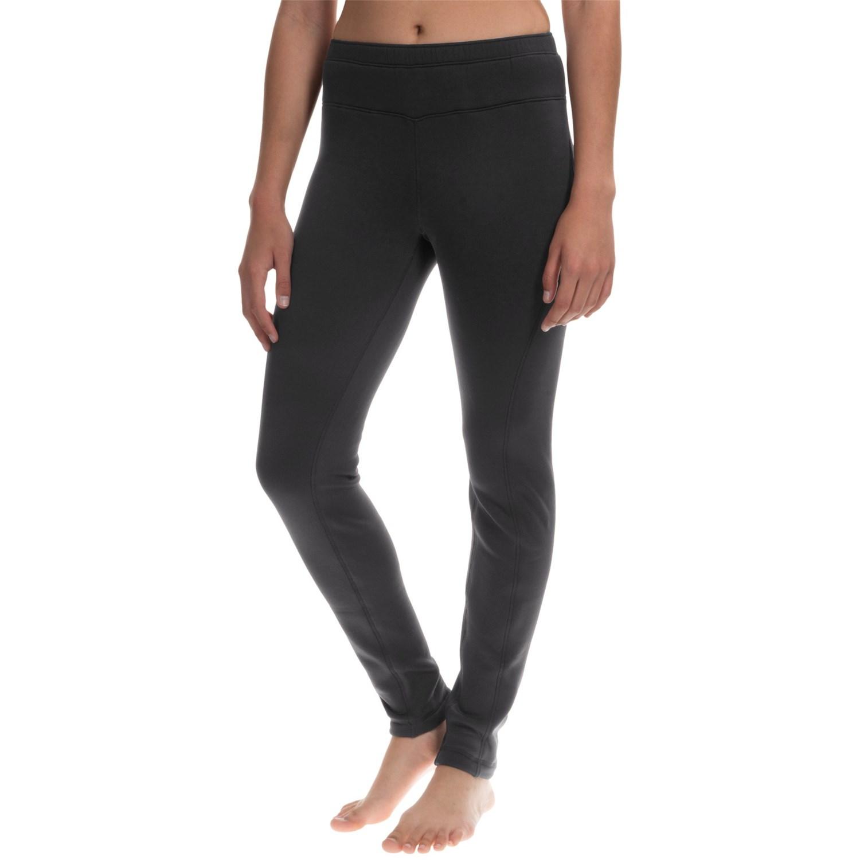 Black leggings for womenavalanche wear mogul fleece leggings base