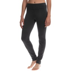 Avalanche Wear Mogul Fleece Leggings - Base Layer (For Women) in Black