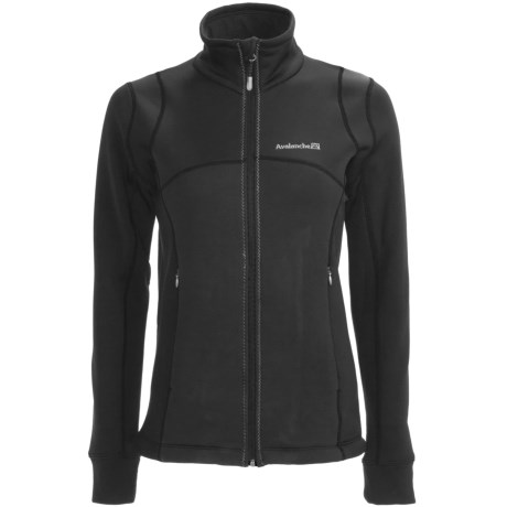 Avalanche Wear Mogul Swerve Soft Shell Jacket (For Women) in Black