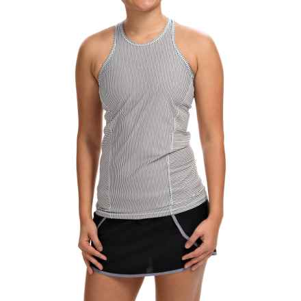 Avalanche Wear NYX Tank Top - Mesh Racerback (For Women) in Grey Stripe/Bay - Closeouts