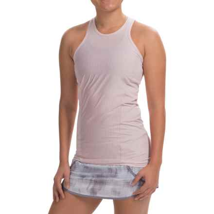 Avalanche Wear NYX Tank Top - Mesh Racerback (For Women) in Petal Pink Stripe/Petal Pink - Closeouts