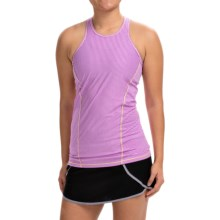 Avalanche Wear NYX Tank Top - Mesh Racerback (For Women) in Purple Cactus - Closeouts
