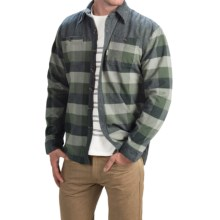 Avalanche Wear Rocky Shirt Jacket - Insulated (For Men) in Green Granite - Closeouts