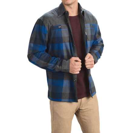 Avalanche Wear Rocky Shirt Jacket - Insulated (For Men) in Indigo - Closeouts