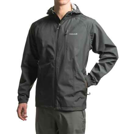 Avalanche Wear Sentinel Hooded Rain Jacket - Waterproof (For Men) in Black - Closeouts