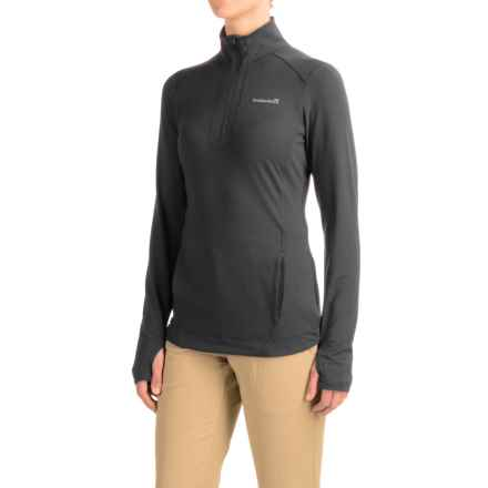 Avalanche Wear Solace Jacket - Zip Neck (For Women) in Black - Closeouts