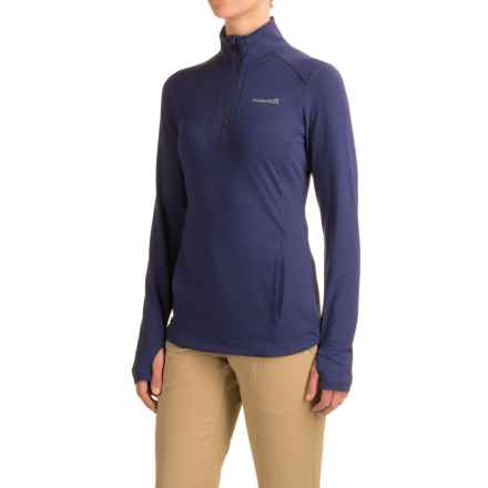 Avalanche Wear Solace Jacket - Zip Neck (For Women) in Deep Cobalt - Closeouts