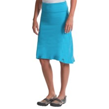 Avalanche Wear Space-Dyed Hi-Low Skirt (For Women) in Baja/Cyan Spacedye - Closeouts