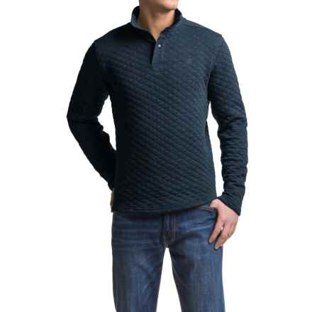 Avalanche Wear Taku Quilted Shirt - Long Sleeve (For Men) in Indigo Heather - Closeouts