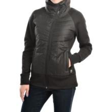 Avalanche Wear Terra Hybrid Jacket (For Women) in Black - Closeouts