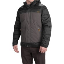 Avalanche Wear Trekker Jacket - Insulated (For Men) in Black/Asphalt - Closeouts