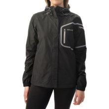 Avalanche Wear Triton Jacket - Waterproof (For Women) in Black/Quick Silver - Closeouts