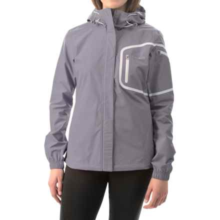 Avalanche Wear Triton Jacket - Waterproof (For Women) in Quick Silver/Artic Blue - Closeouts