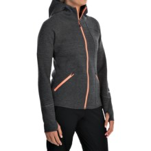 Avalanche Wear Volcan Hoodie (For Women) in Asphalt/Black/Coral - Closeouts