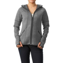 Avalanche Wear Volcan Hoodie (For Women) in Grey / Black - Closeouts