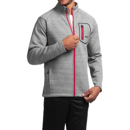 Avalanche Wear Volcan Jacket (For Men) in Grey Melange - Closeouts