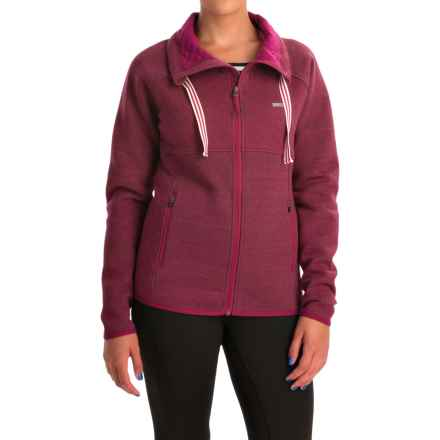 Avalanche Wear Volcan Jacket (For Women) in Nocturne Wine - Closeouts