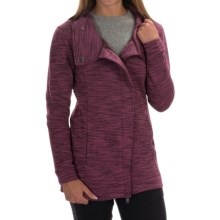 Avalanche Wear Volos Sweater - Asymmetrical Collar (For Women) in Nocturne Wine - Closeouts